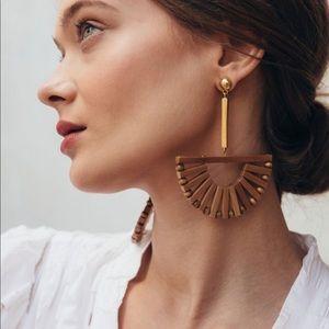 Beautiful Ark bamboo earrings